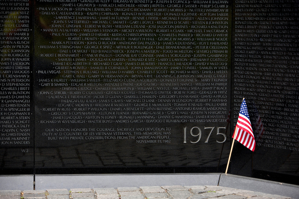 UNITED STATES-WASHINGTON DC-Vietnam Veterans Memorial..VERENIGDE STATEN-WASHINGTON DC-Vietnam Veterans Memorial.  PHOTO  GERRIT DE HEUS