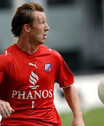 22-10-2006 VOETBAL: UTRECHT - DEN HAAG: UTRECHT<br /> FC Utrecht wint in eigenhuis met 2-0 van FC Den Haag / Cedric van der Gun <br /> ©2006-WWW.FOTOHOOGENDOORN.NL