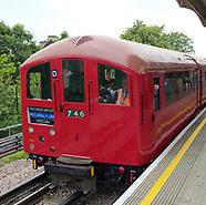 London Transport 1938 Art Deco Tube Train
