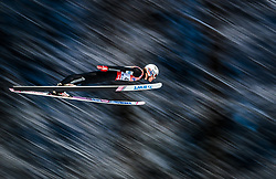 19.01.2018, Heini Klopfer Skiflugschanze, Oberstdorf, GER, FIS Skiflug Weltmeisterschaft, Einzelbewerb, im Bild Daniel Andre Tande (NOR) // Daniel Andre Tande of Norway during individual competition of the FIS Ski Flying World Championships at the Heini-Klopfer Skiflying Hill in Oberstdorf, Germany on 2018/01/19. EXPA Pictures © 2018, PhotoCredit: EXPA/ JFK