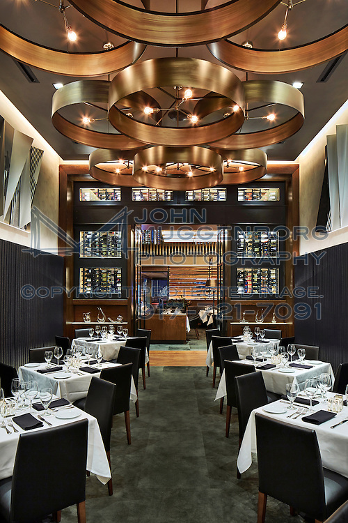 An image from the restaurant Ocean Prime designed by iCrave and photographed by John Muggenborg.
