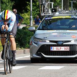 TRENTO (ITA): CYCLING: SEPTEMBER 8th: Alec Segaert wint voor Cian Uijtdebroeks en Eddy Le Huitouze