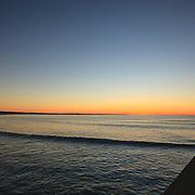 Today's Summer Sunrise  at Narragansett Town Beach, Narragansett, RI, September 15, 2013. #401 #surf #waves #beach #sunrise