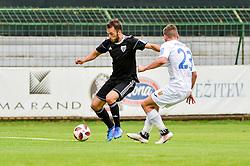 Ziga Kous of NS Mura during football match between NS Mura and NK Domzale in 3rd Round of Prva liga Telekom Slovenije 2018/19, on Avgust 05, 2018 in Mestni stadion Fazanerija, Murska Sobota, Slovenia. Photo by Mario Horvat / Sportida