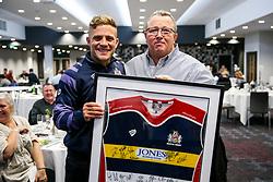 Match sponsor presentation with Ian madigan of Bristol Rugby - Rogan/JMP - 22/10/2017 - RUGBY UNION - Ashton Gate Stadium - Bristol, England - Bristol Rugby v Doncaster Knights - B&I Cup.