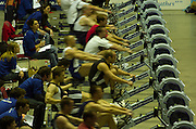 2004_British_Indoor_Rowing_Championships.NIA. Birmingham.England. 21.11.2004.GV's of the compition area..[Mandatory Credit Peter Spurrier/ Intersport Images]