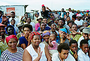Locals in the Alexandra Township, Johannesburg, South Africa
