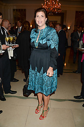 """KIRSTIE ALLSOPP at an """"Evening With Damon Hill'  a dinner and talk in aid of the Downs Syndrome Association held at Claridge's, Brook Street, London on 7th November 2013."""