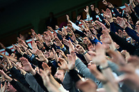 Fotball , 05. Oktober 2012, Tippeligaen , Eliteserien <br /> Vålerenga IF - Strømsgodset IF<br /> Strømsgodsetsupportere Godsetunionen før kamp <br /> Foto: Sjur Stølen , Digitalsport