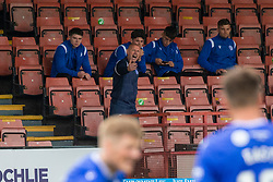 31JUL21 Queen of the South's Manager Allan Johnston. Partick Thistle 3 v 2 Queen of the South. First Scottish Championship game of the season.