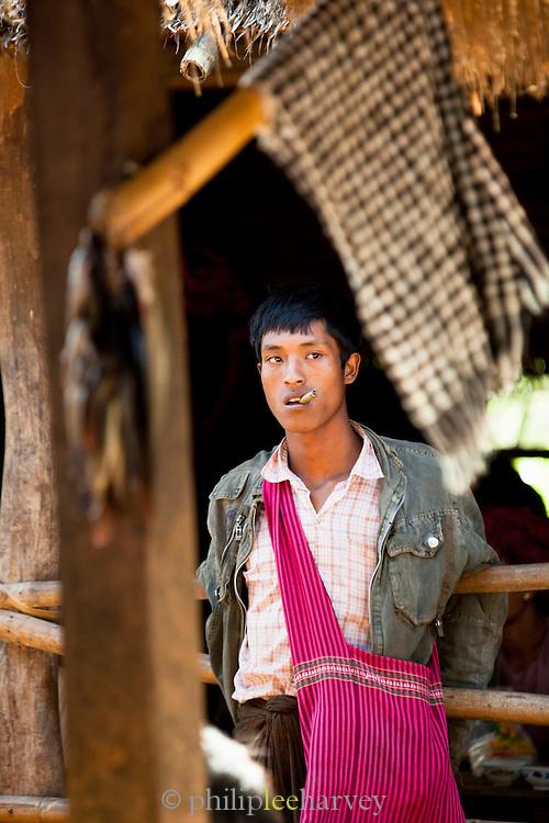 Sellers at Inn Dein market near the Inle Lake in Shan state, Myanmar