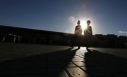 June 28, 2017 - Policiais Russos fazem a segurança dentro do estádio antes da partida entre Portugal x Chile válida pelas semifinais da Copa das Confederações 2017, nesta quarta-feira (28), realizada no Estádio da Arena Kazan, na cidade de Kazan, na Rússia. (Credit Image: © Rodolfo Buhrer/Fotoarena via ZUMA Press)