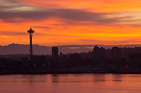 Space Needle @ Sunrise