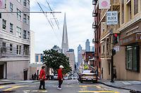 United States, California, San Francisco. Powell Street.