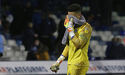Aaron Chapman of Peterborough United leaves the pitch dejected at full-time - Mandatory by-line: Joe Dent/JMP - 19/01/2019 - FOOTBALL - Kenilworth Road - Luton, England - Luton Town v Peterborough United - Sky Bet League One