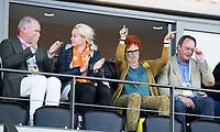AMSTELVEEN -   tijdens  de opening van het Stadion voor de Nederland - Spanje (dames) bij de Rabo EuroHockey Championships 2017.  COPYRIGHT KOEN SUYK