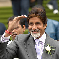 Leeds, 7th June 07 IIFA  IIndian International Film Academy) Indian actress Shilpa Shetty and legend Amitabh Bachchan at press conference for the opening of the IIFA ..EXCLUSIVE WORDWIDE TO REX FEATURES