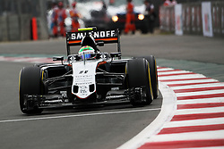 Sergio Perez (MEX) Sahara Force India F1 VJM09.<br /> 28.10.2016. Formula 1 World Championship, Rd 19, Mexican Grand Prix, Mexico City, Mexico, Practice Day.<br /> Copyright: Photo4 / XPB Images / action press