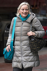 **File picture of CHRISTINE SHAWCROFT  who has resigned from The head of the Labour Party's disputes panel after it emerged she opposed the suspension of a council candidate accused of Holocaust denial**<br /> © Licensed to London News Pictures. 20/03/2018. London, UK. Christine Shawcroft arrives at Labour Party headquarters in London to attend a National Executive Committee meeting, where a new general secretary of the Labour Party is expected to be appointed. Photo credit: Ben Cawthra/LNP