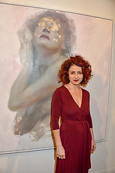 12 December 2019 - Tiziana Coste at a private view of Lethe by Henrik Uldalen at JD Malat Gallery. 30 Davies Street, London.<br /> <br /> Photo by Dominic O'Neill/Desmond O'Neill Features Ltd.  +44(0)1306 731608  www.donfeatures.com