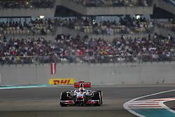13.11.2011, Yas-Marina-Circuit, Abu Dhabi, UAE, Grosser Preis von Abu Dhabi, im Bild DHL Branding - Lewis Hamilton (GBR), McLaren F1 Team  // during the Formula One Championships 2011 Large price of Abu Dhabi held at the Yas-Marina-Circuit, 2011/11/13. EXPA Pictures © 2011, PhotoCredit: EXPA/ nph/ Dieter Mathis..***** ATTENTION - OUT OF GER, CRO *****