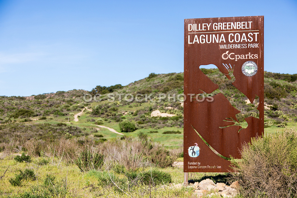 Dilley Greenbelt Laguna Coast Wilderness Park in Laguna Beach California