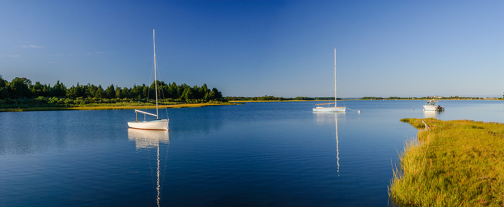South Fork, Springs, Accabonac Harbor, Long Island, New York