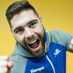 20170103: SLO, Handball - Portrait of Slovenian handball player Blaz Janc
