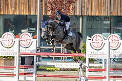 Favede Tom, Menthago PS<br /> Belgian Championship 6 years old horses<br /> SenTower Park - Opglabbeek 2020<br /> © Hippo Foto - Dirk Caremans<br />  13/09/2020