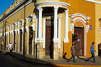 Mexique, Etat de Yucatan, Merida, capitale du Yucatan, Place de independance // Mexico, Yucatan state, Merida, the capital of Yucatan, square of independence