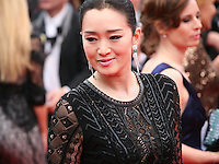 Actress Gong Li at the the Grace of Monaco gala screening and opening ceremony red carpet at the 67th Cannes Film Festival France. Wednesday 14th May 2014 in Cannes Film Festival, France.