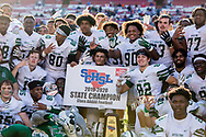 Dutch Fork Silver Foxes players celebrate their 4th straight   Class AAAAA State Championship at Williams-Brice Stadium in Columbia, SC. Dutch Fork wins their 4th straight state championship at Williams Brice Stadium. Photos ©JeffBlakePhoto.com