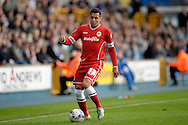 Ravel Morrison of Cardiff City on the ball. Skybet football league championship match , Millwall v Cardiff city at the Den in Millwall, London on Saturday 25th October 2014.<br /> pic by John Patrick Fletcher, Andrew Orchard sports photography.