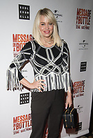 Kimberley Wyatt at the Message in a Bottle press night , Peacock Theatre, London