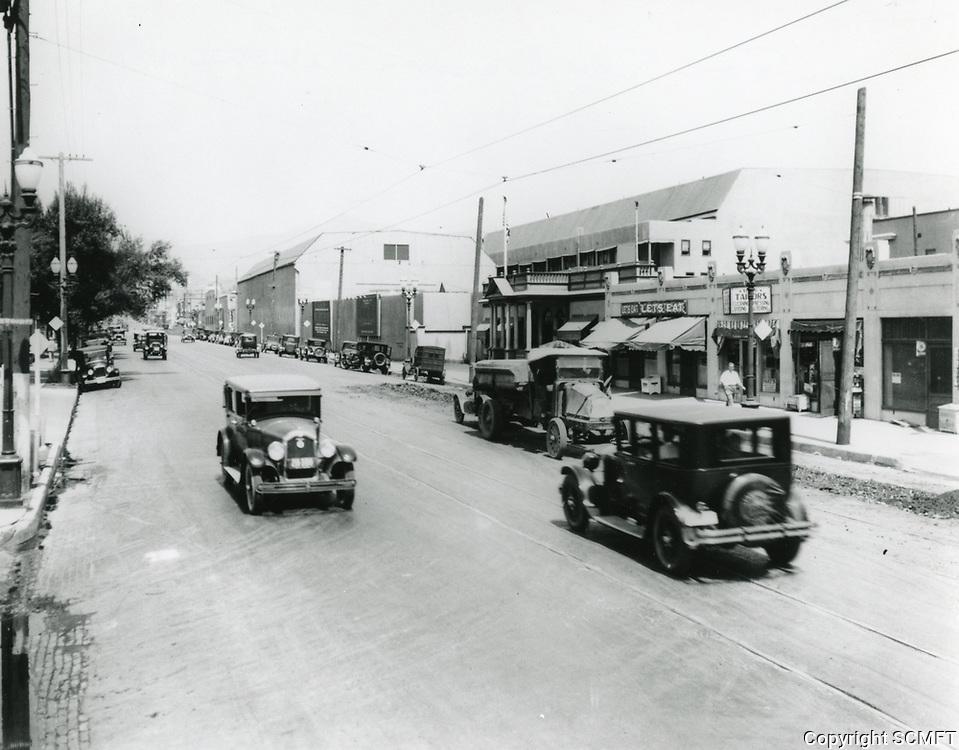 1925 William Fox Studios in Hollywood