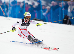 11-02-2011 SKIEN: FIS ALPINE WORLD CHAMPIONSSHIP: GARMISCH PARTENKIRCHEN<br /> Gold Medal and World Champion Anna Fenninger (AUT) during ladies Supercombi<br /> **NETHERLANDS ONLY**<br /> ©2011-WWW.FOTOHOOGENDOORN.NL/EXPA/ J. Groder