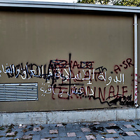 Roma, scritte pro-Isis