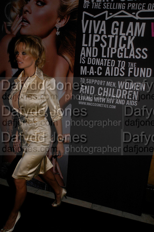 Pamela Anderton. MAC VIVA GLAM V party launching MAC Cosmetics latest charity lipstick at Home House. London. April 21 2005n. All proceeds go straight to the MAC AIDS Fund,. ONE TIME USE ONLY - DO NOT ARCHIVE  © Copyright Photograph by Dafydd Jones 66 Stockwell Park Rd. London SW9 0DA Tel 020 7733 0108 www.dafjones.com
