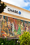 Chase Bank Building in Downtown Anaheim