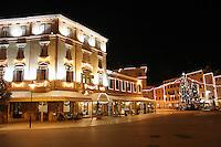"Julepynt i Rovinj, ""den siste fiskerbyen ved Adriaterhavet"", Christmas decoration in Rovinj ""the last fisher village by the Adriatic coast"""
