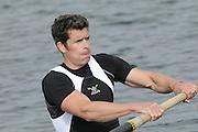 Eton, United Kingdom    GBR M2-  Greg SEARLE, final  men's pair final, at the 2012 GB Rowing Trials, Dorney Lake. Near Windsor Berks Sunday  11/03/2012  [Mandatory Credit; Peter Spurrier/Intersport-images]