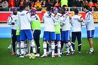 Groupe Lyon - 17.01.2015 - Lens / Lyon - 21eme journee Ligue 1<br />Photo : Dave Winter / Icon Sport