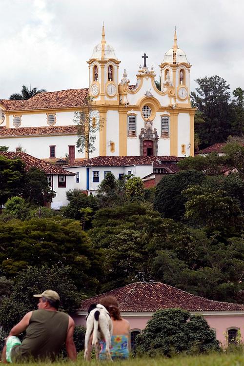 Tiradentes_MG, Brasil...Igreja Matriz de Santo Antonio em Tiradentes...The Santo Antonio mother church in Tiradentes...Foto: BRUNO MAGALHAES /  NITRO