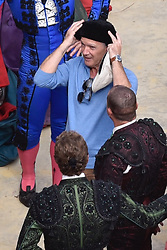 ** NO WEB UNTIL 9am GMT THURSDAY 1st NOVEMBER** Antonio Banderas with a shaven head for his role as legendary artist Pablo Picasso in National Geographic s Genius Season 2. The Spanish actor was rehearsing for bullfighting scenes during filming in Malaga. 31 Oct 2017 Pictured: Antonio Banderas with a shaven head. Photo credit: MEGA TheMegaAgency.com +1 888 505 6342