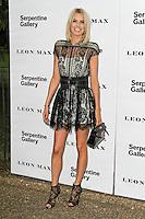 LONDON - JUNE 26: Caroline Stanbury attended the Serpentine Gallery summer party, Kensington Gardens, London, UK. June 26, 2012. (Photo by Richard Goldschmidt)