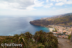 A view of Machico and the Madeira's airport viewed form Pico Facho, Madeira. MADEIRA, September 25 2018. © Paul Davey