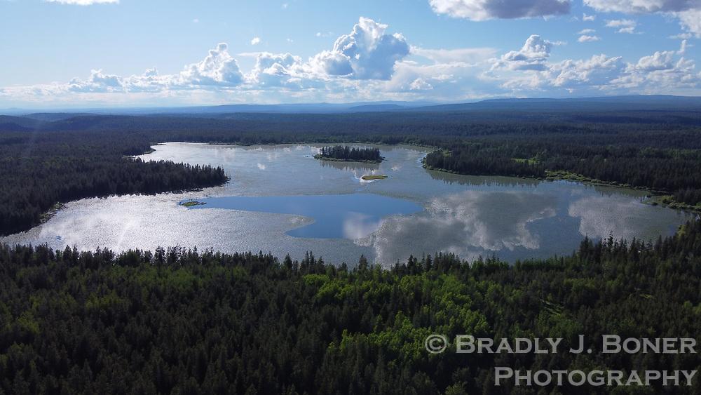 Indian Lake on the Ashton-Flagg Ranch Road