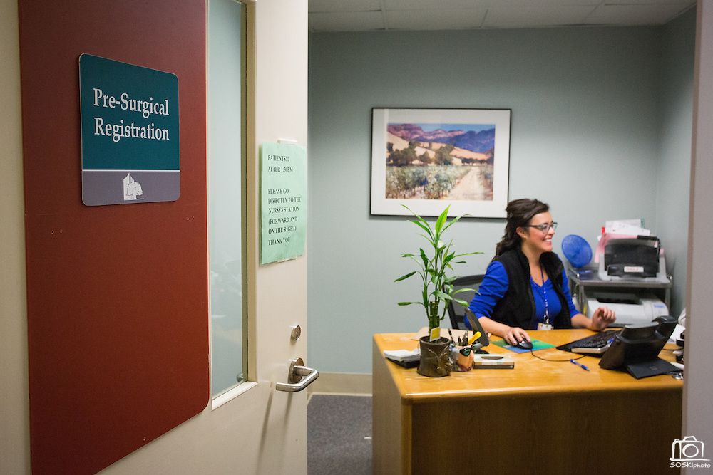 Marketing campaign for Good Samaritan Hospital, photographed at Good Samaritan Hospital in San Jose, California, on May 27, 2015. (Stan Olszewski/SOSKIphoto)