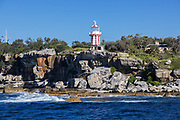 Hornby Lighthouse also known as South Head Lower Light or South Head Signal Station, is a heritage listed active lighthouse. It is located on the tip of South Head, NSW, Australia, slightly to the noth of the suburb of Watsons Bay, Sydney.