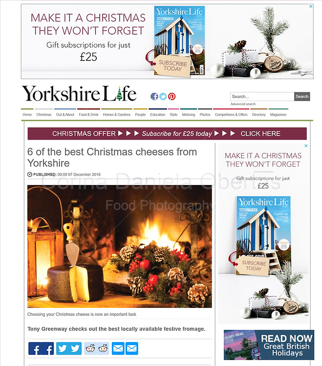Published by Yorkshire Life in 2016